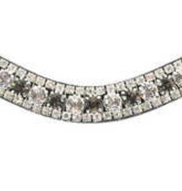 PS of Sweden Browband Crystal Silver Night