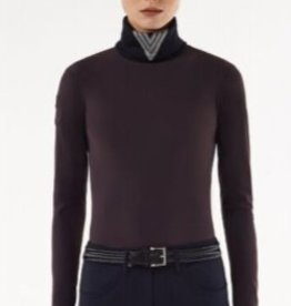 Cavalleria Toscana Pully  CT knit intarsia Bordeaux