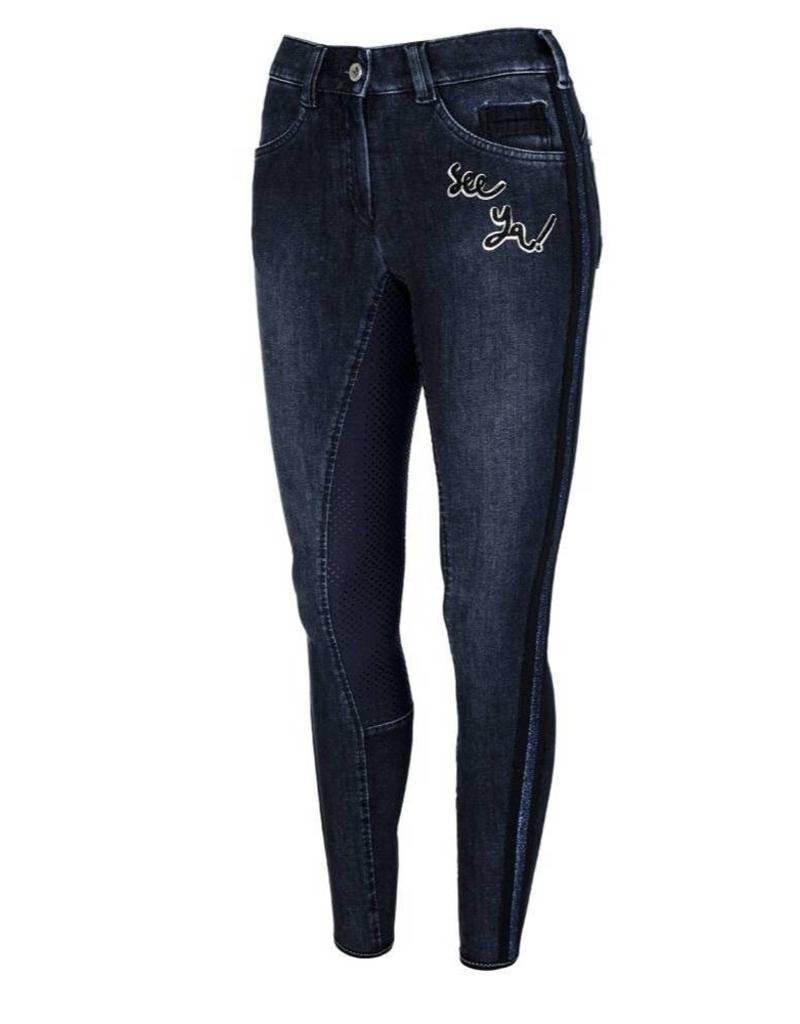 Pikeur Breeches  Gianna Grip jeans navy