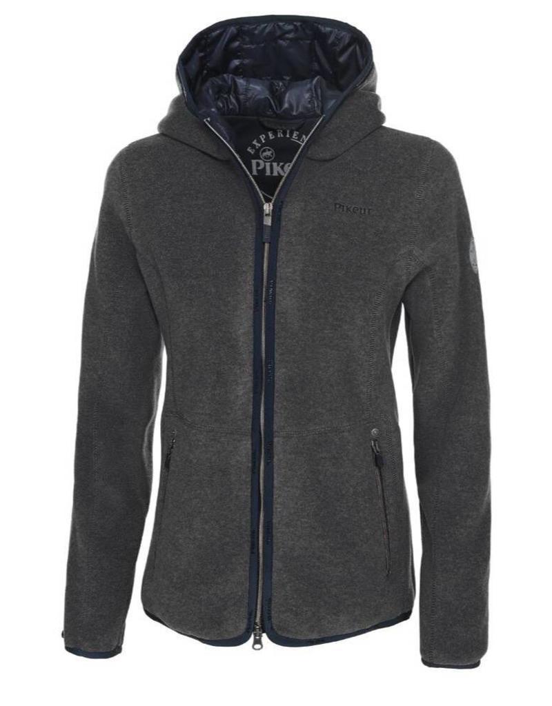 Pikeur Fleece Jacket Frida Antracite Melange