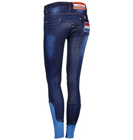 Harry Horse Rijbroek Dutch jeans Orange Full Denim
