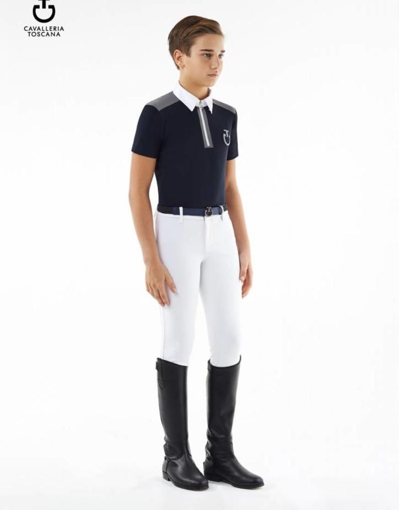 Cavalleria Toscana Polo Jersey insert young boy