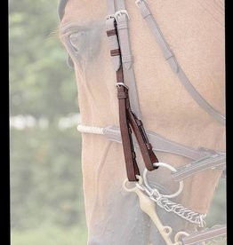 Dyon Double Bridle Cheek Pieces
