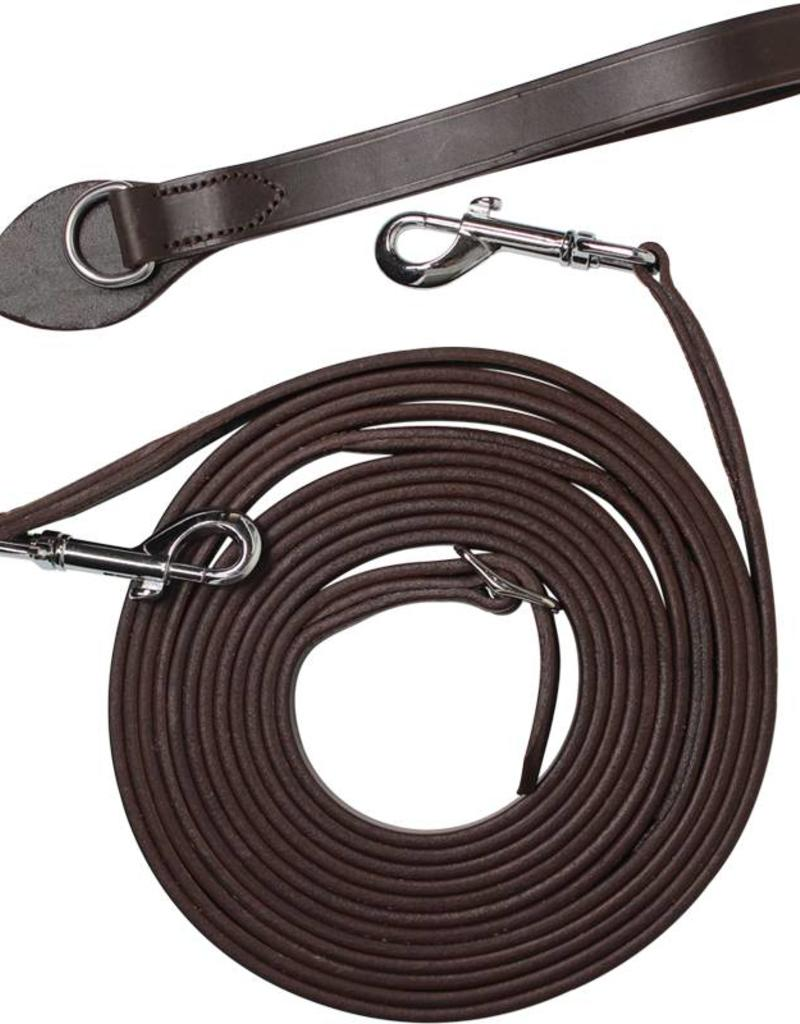 Leather draw reins 5027