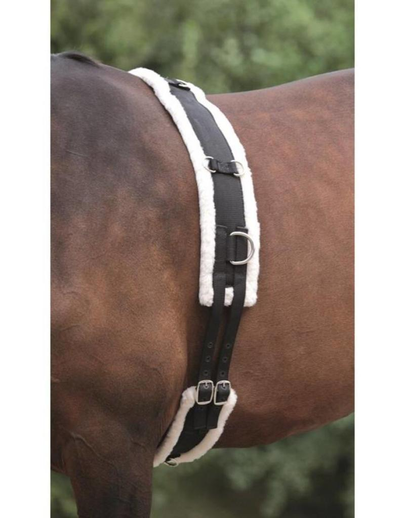 Shires Lunging Girth Shires W/Fleece Lining