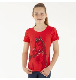 Anky Girls Horse Shirt Flaming Skarlet