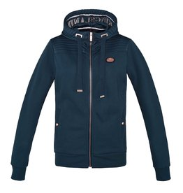 Kingsland Sweat jacket Canalosa blue
