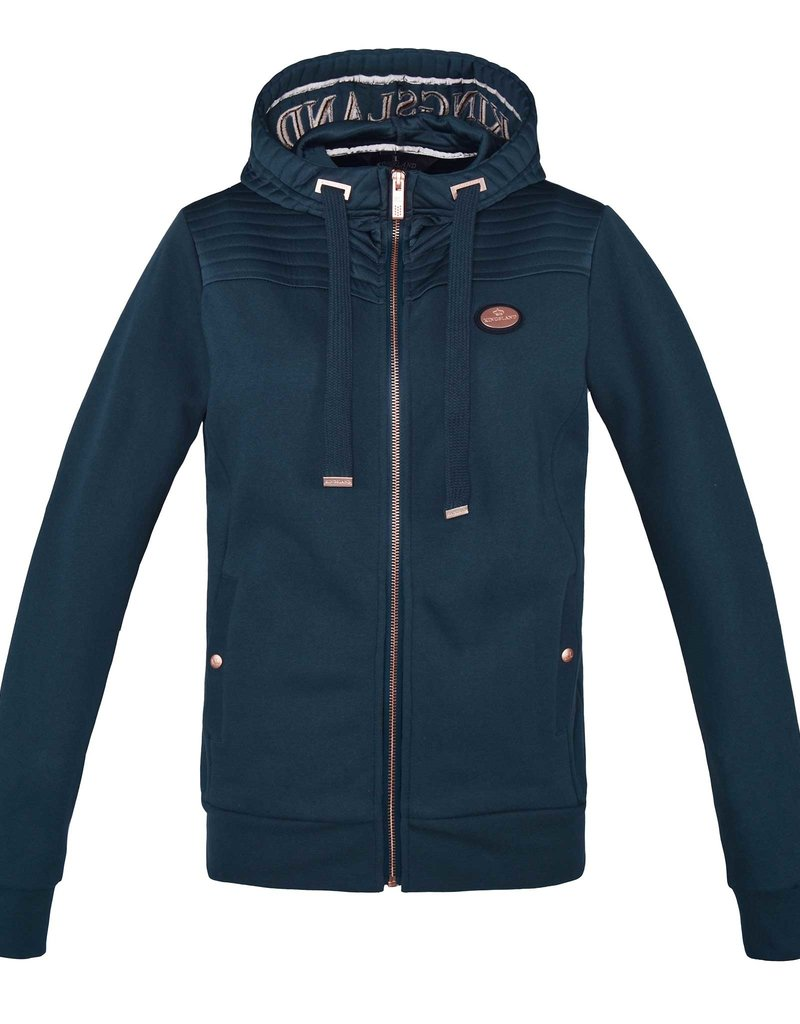 Kingsland Sweat jacket Canalosa blue