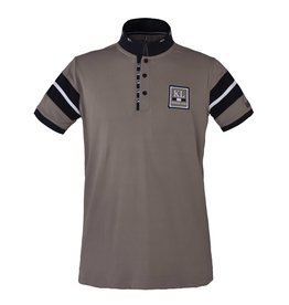 Kingsland Polo shirt mens Javier beige