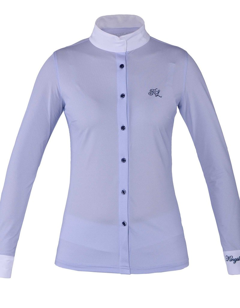 Kingsland Show shirt Fortuna ladies Blue
