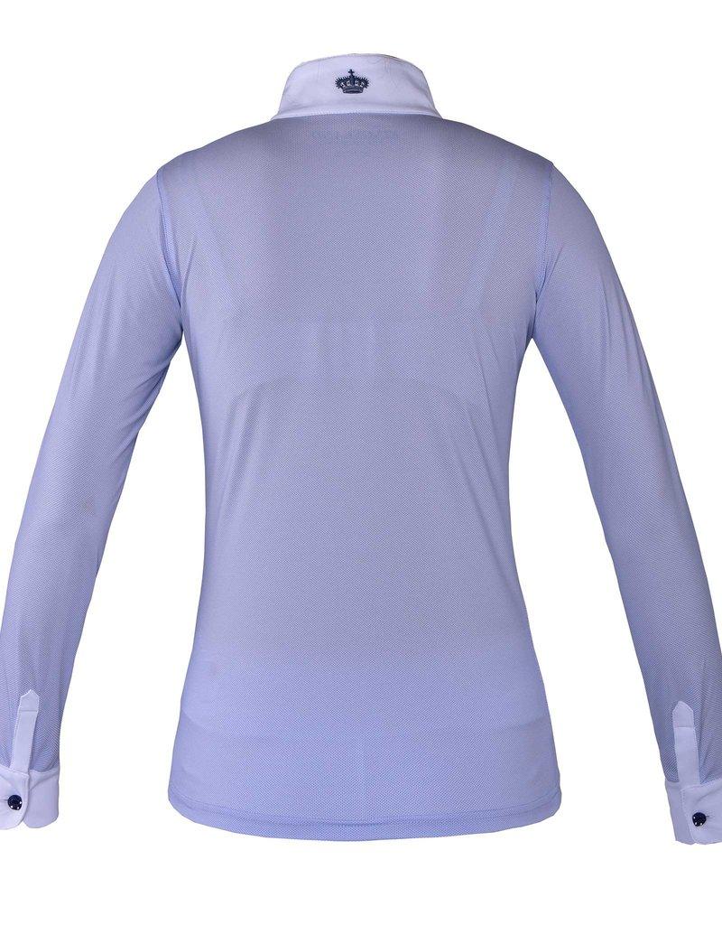 Kingsland Showshirt Fortuna dames blauw