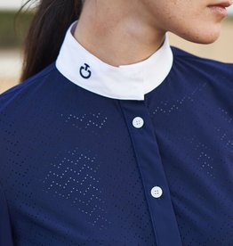 Cavalleria Toscana CT Vertical Perforated Competition Shirt