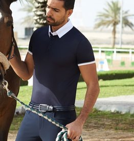 Cavalleria Toscana CT 3 Stripe Competition Polo