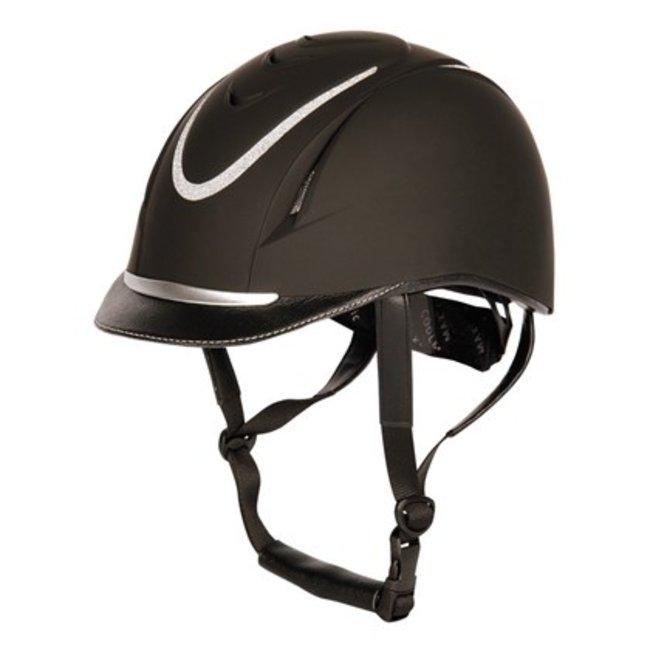 Harry Horse safety helmet Challenge Sparkle  Black
