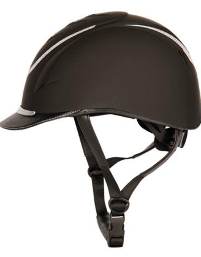 Harry Horse Veiligheidscap Challenge Sparkle zwart