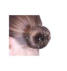 Qhp Hairnet thin pearl