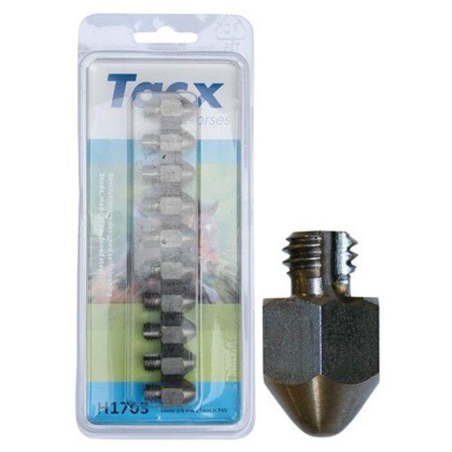 Harry's Horse Tacx RVS kalkoenen 3/8 17mm (10 st.) met punt