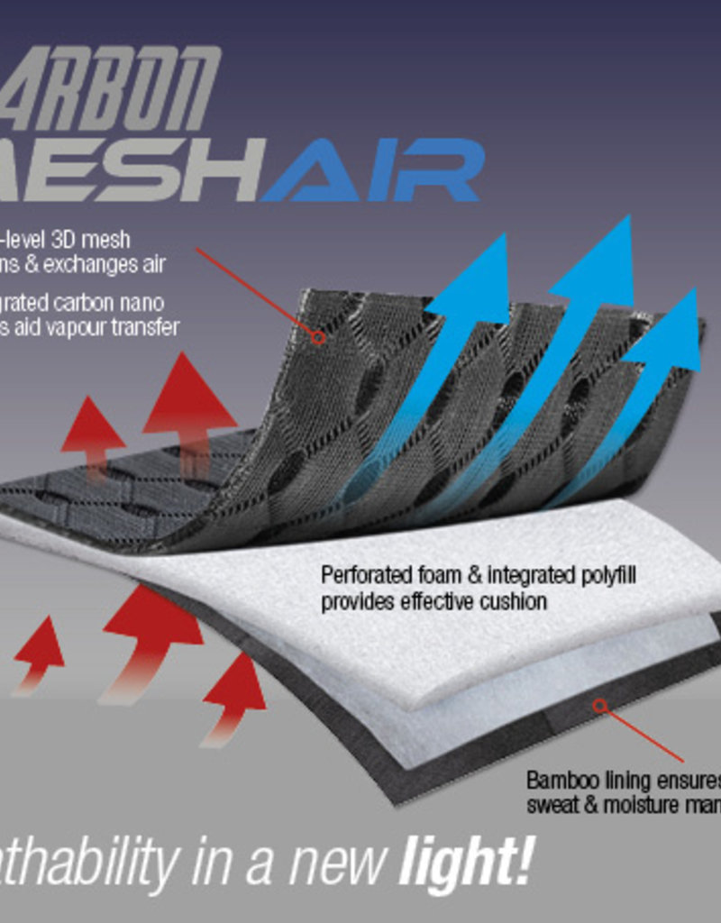 Le Mieux LMX Carbon Mesh Air Dressage square Full