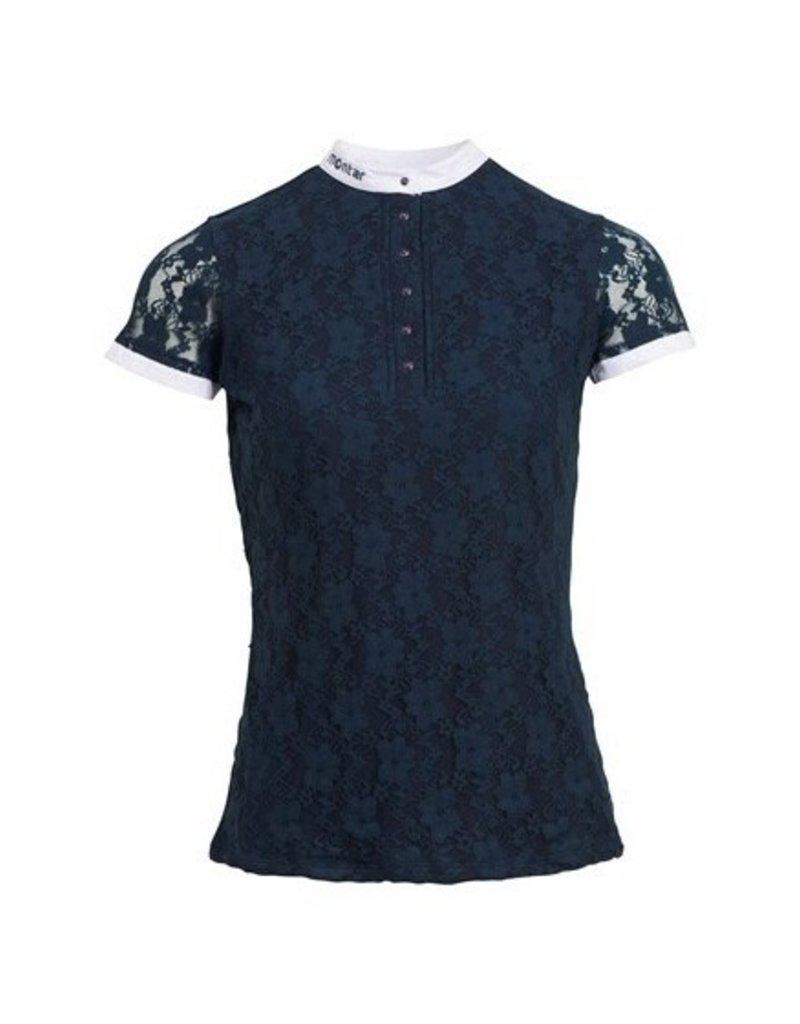 Montar Wedstrijdshirt Amelia lace style navy