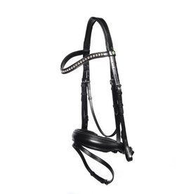 LJ Leathers Bridle LJ new professional dressage