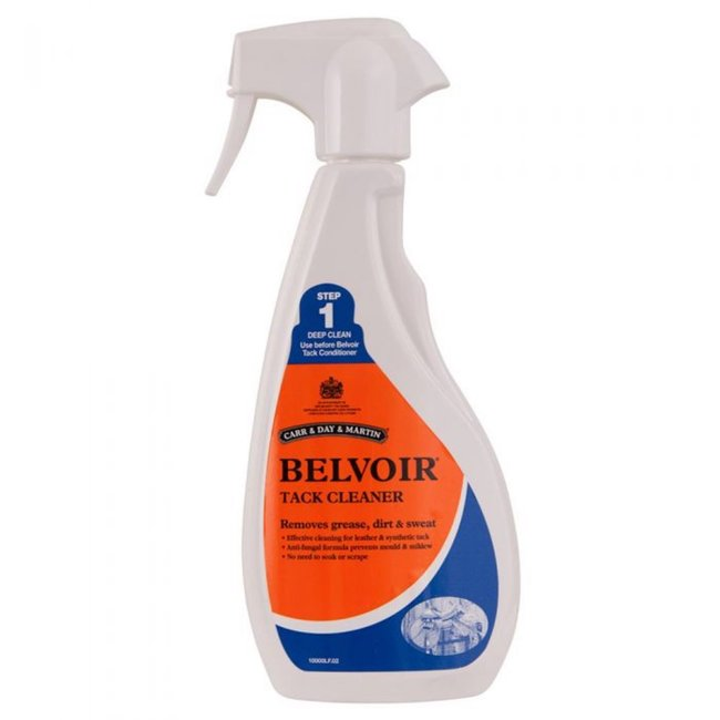 Carr & Day & Martin Leerzeep Belvoir Tack Cleaner Spray Step 1 500ml