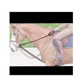 Dyon Leather Draw Reins Brown