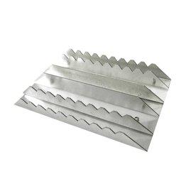 Equi-Theme Aluminium Curry  Comb