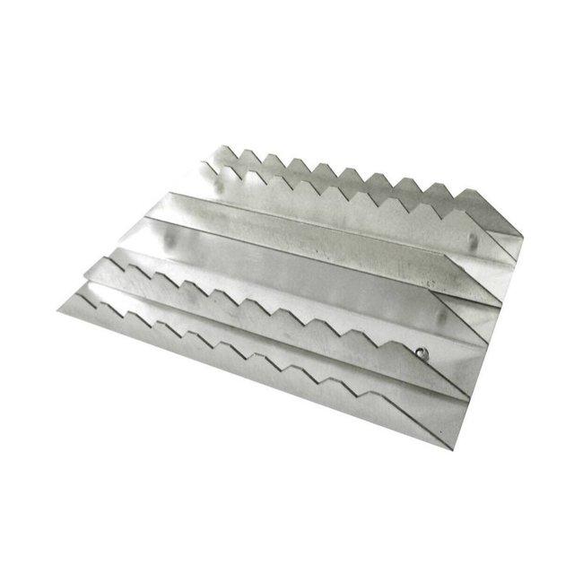 Equi-Theme Aluminium Curry Borstel