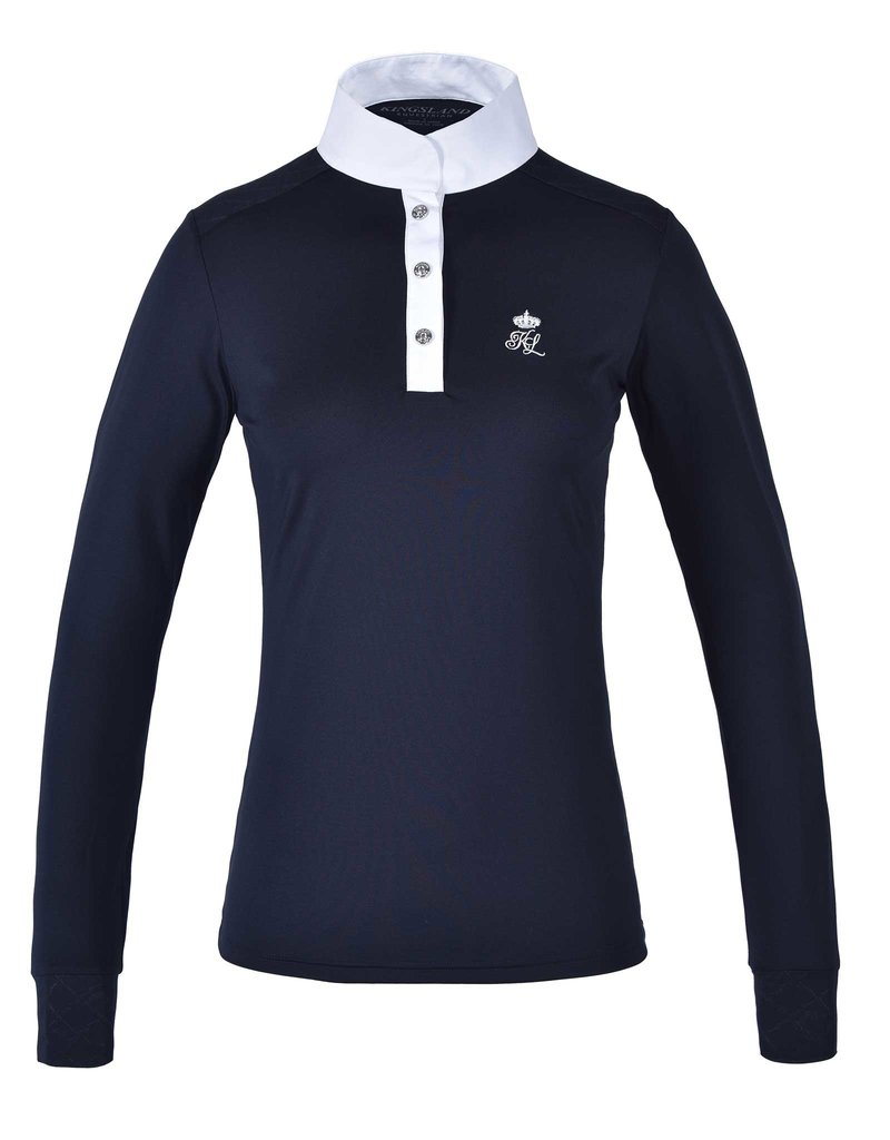 Kingsland Showshirt longsleeve Timmins Navy