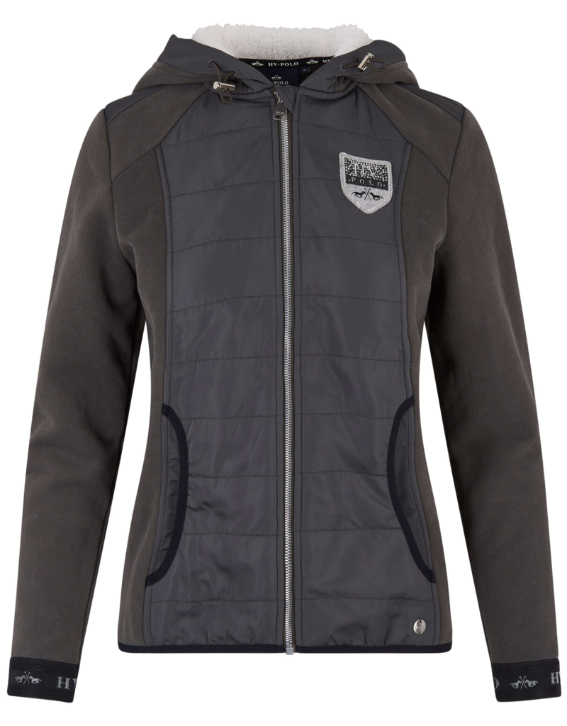 HV Polo Sweat hoody met rits Bellevue