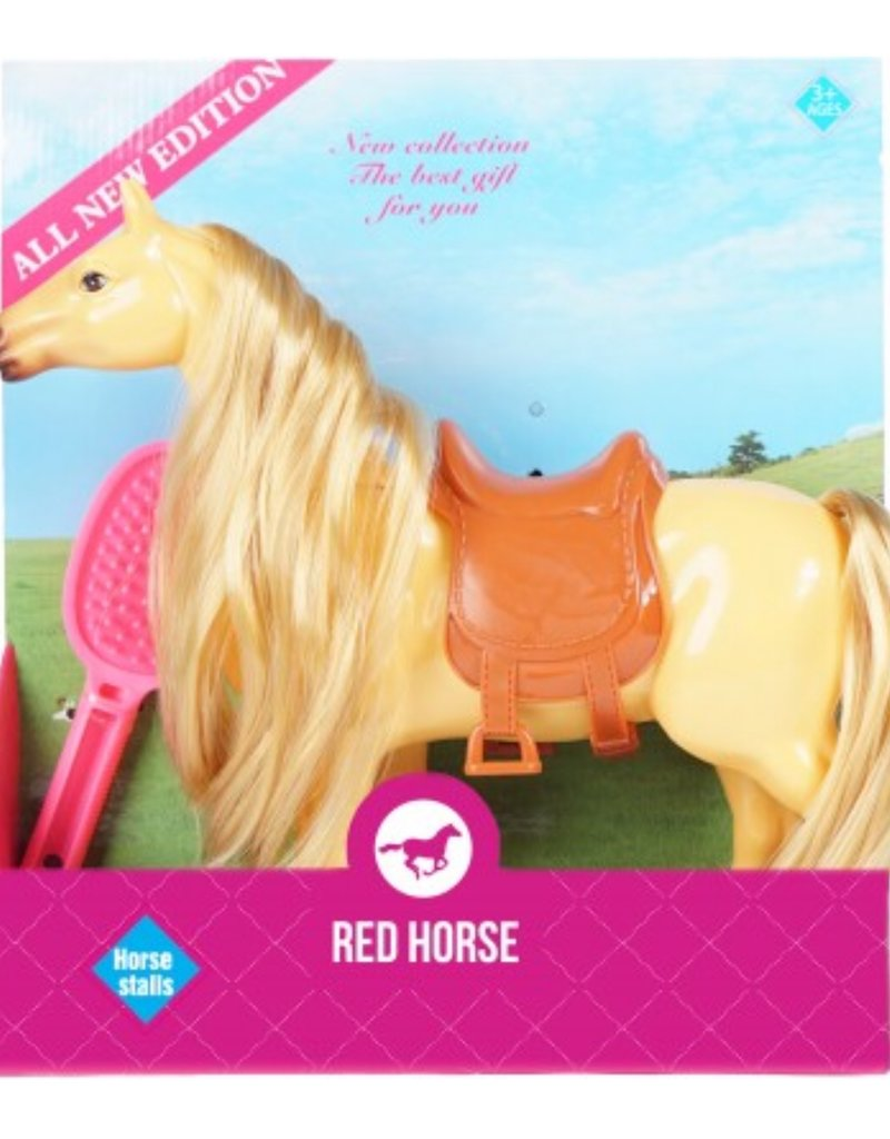 Red Horse Speelgoed paard