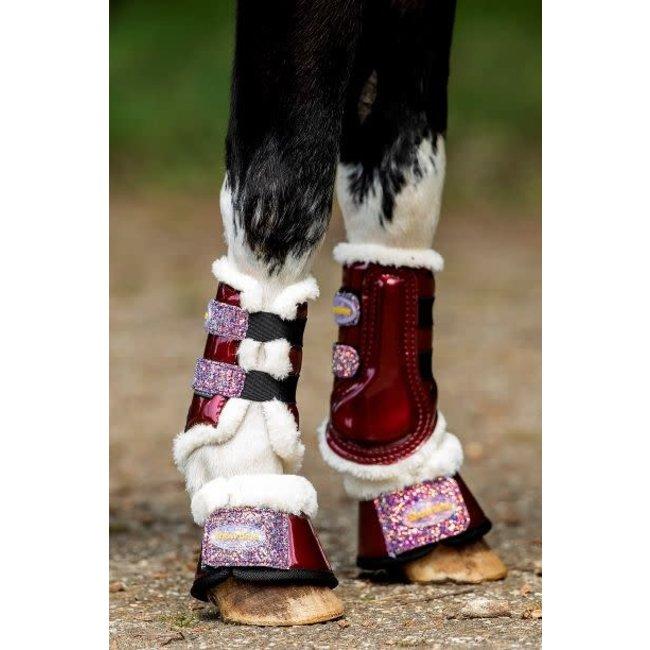 HB Flex boots litlle Gold Rush Glitter