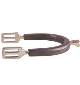 BR Sporen Knop rvs met rubberen spoorbeschermers kind 15mm