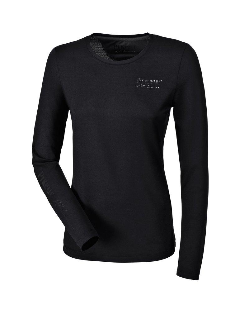 Pikeur T-Shirt longsleeve Caisy black