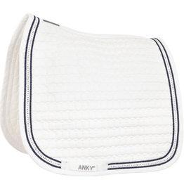 Anky Dressage pad diamond white