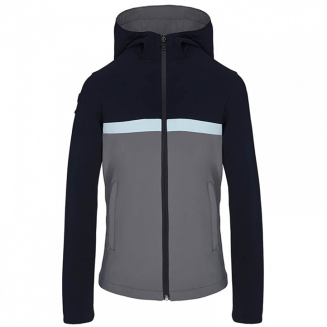 Cavalleria Toscana Jersey Hooded Softshel Jacket