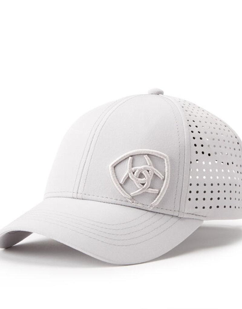 Ariat Tri factor cap silver grey