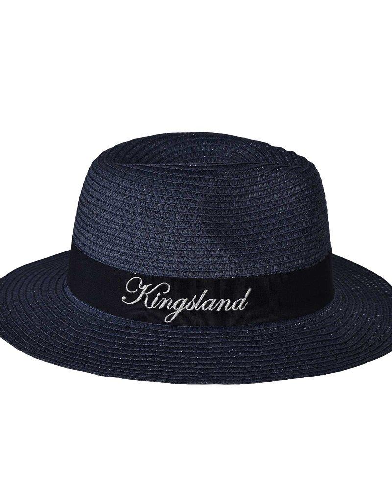 Kingsland Hoed Gladys Straw Navy