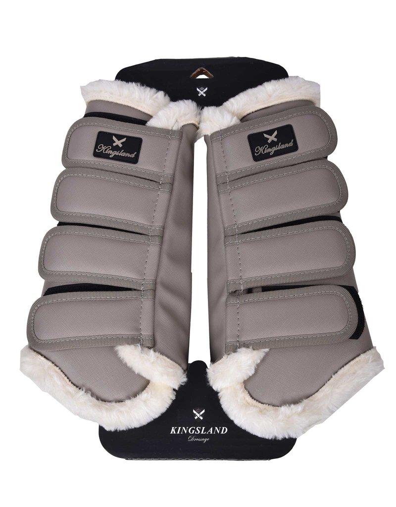 Kingsland Protection boots Frona back