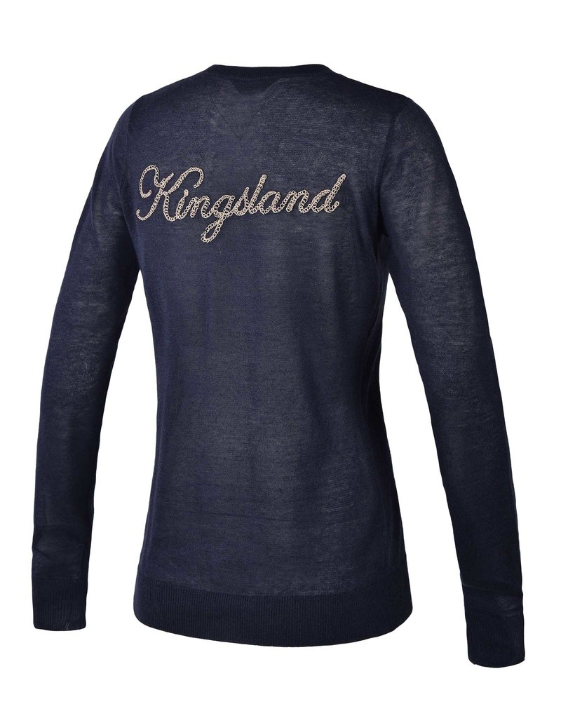 Kingsland Trui V hals Gillian Navy
