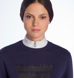 Cavalleria Toscana Peekaboo crew neck sweatshirt