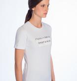 Cavalleria Toscana Peekaboo crew neck t-shirt
