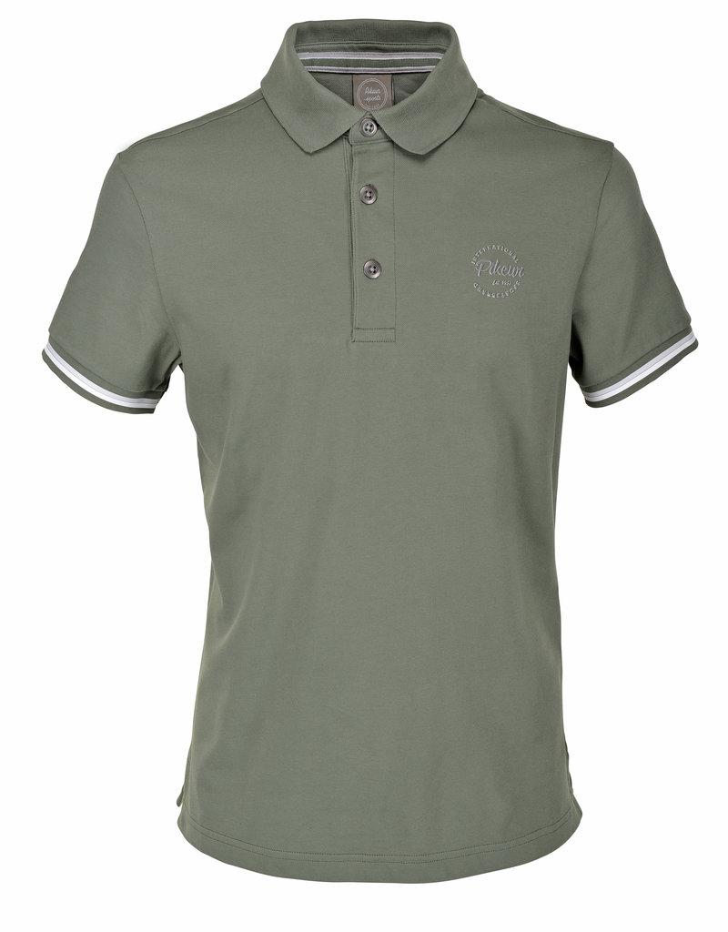 Pikeur Poloshirt Abraxas Agave groen size M