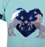 Qhp Shirt Esma Junior Ice Green