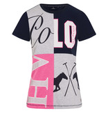HV Polo T-shirt Rosaly Grey Melange