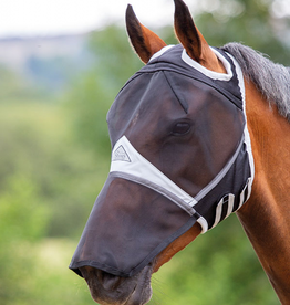 Shires Fly hood with nose and cutout for the ears