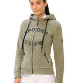 Spooks Fleece jacket Marlena Light Olive