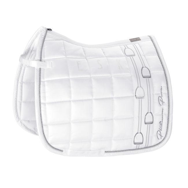 Eskadron Saddle Cloth  Big Square glossy Platinum Pure SS 20 White