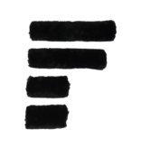 Sheepskin Halter Set, 4 stuks