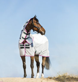 Horseware Amigo airflow rug Green/purple & mint